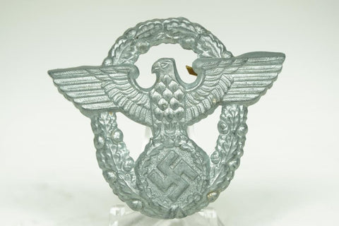 WW2 German Police Cap Eagle. MINT