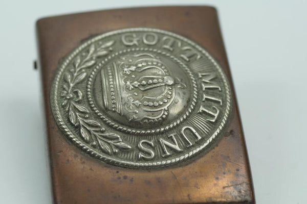 Gott Mit Uns Beltbuckle. WW1 German