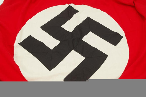 Large 3-piece NSDAP banner. 190x76cm. WW2 German