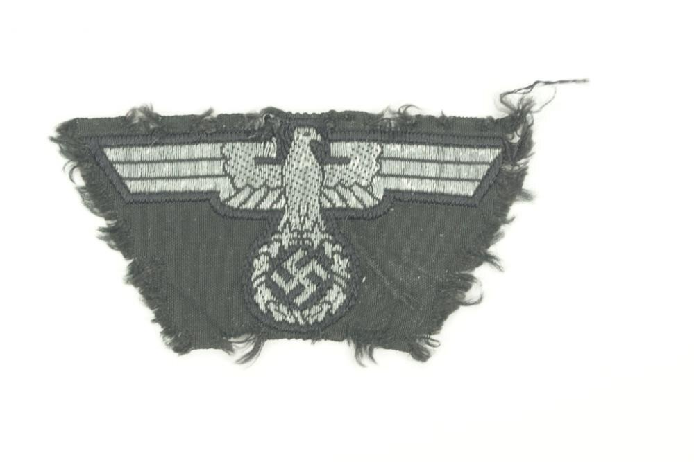 Rare NSKK M43 cap eagle. WW2 German