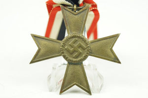 "Kriegsverdienstkreuz w.o. swords 2. class. Maker marked ""60"" WW2 German - Nordic-Militaria"