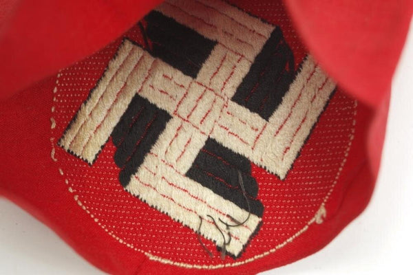 NSDAP BeVo construction Armband. WW2 German
