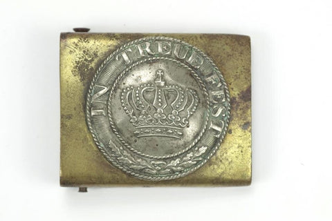 """In Treue Fest"" belt buckle. WW1 German"