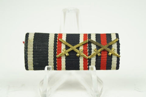 WW1/WW2 German 3-place ribbonbar - Nordic-Militaria