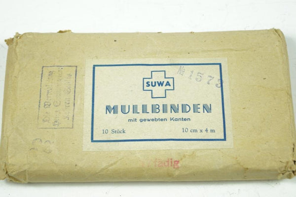 """Mullbinden"" (First aid). WW2 German"