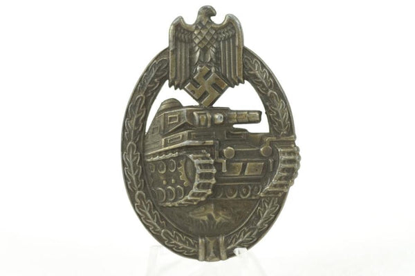 Panzerkampfabzeichen im Bronze. Maker Marked. WW2 German