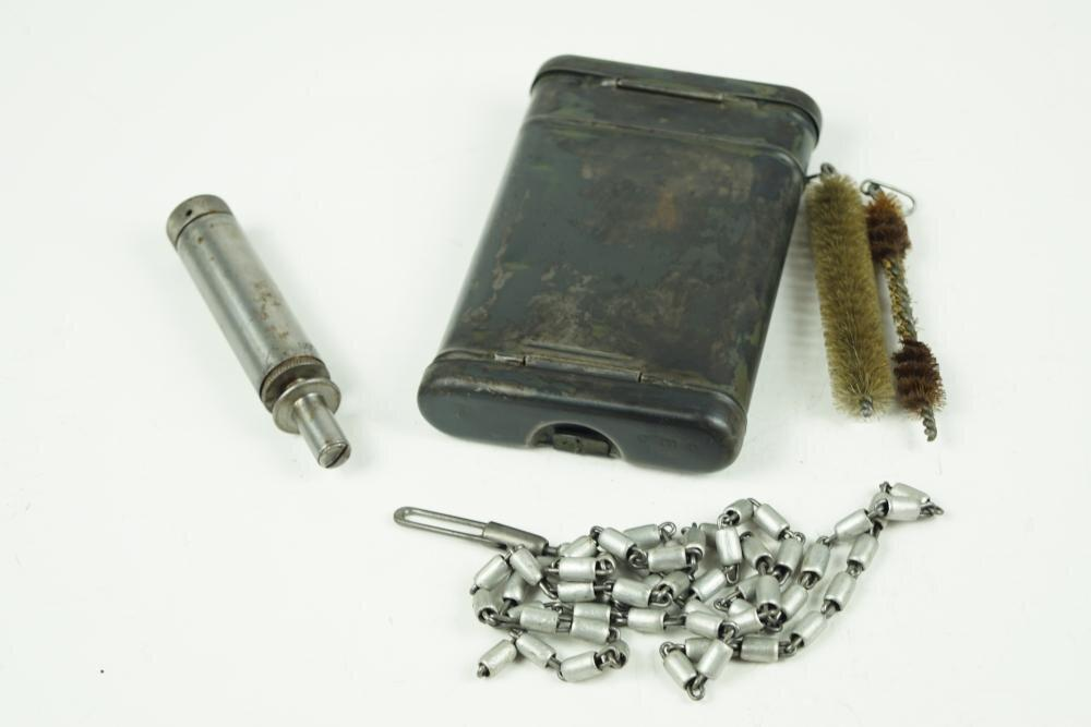 "K98 cleaning kit ""L""-Type. Missing one tool, otherwise complete. WW2 German"