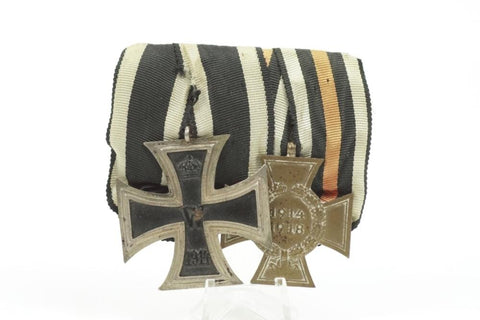 Iron Cross 2. Class medal bar. WW1 German