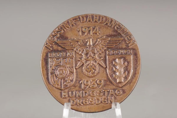 National Sozialistische Deutscher Marine Bund (NSDMB) tinnie. WW2 German