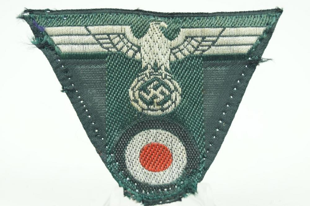 "Wehrmacht ""T""-shape insignia for the Feldmütze. WW2 German - Nordic-Militaria"