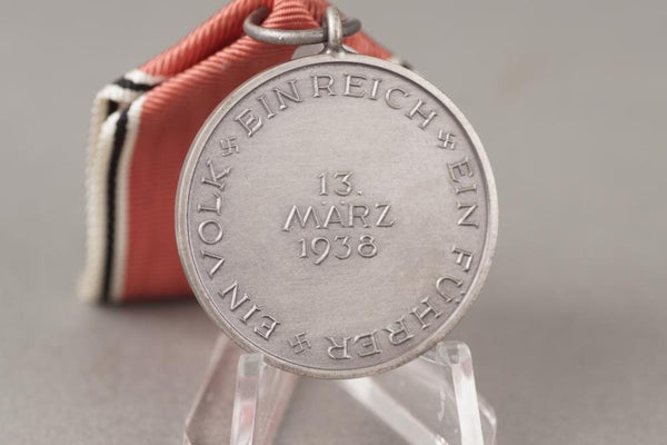 13 März 1938 medal in box. Really great condition! WW2 German