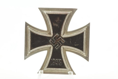 "Maker marked 107 (Carl Wild). Iron Cross 1. Class ""Eisernes Kreuz 1. Klasse"" Rare maker. WW2 German"