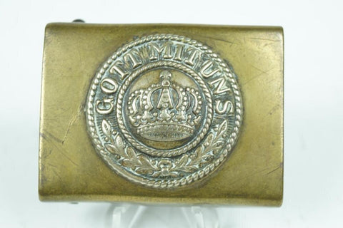 WW1 German Beltbuckle. Good condition. - Nordic-Militaria