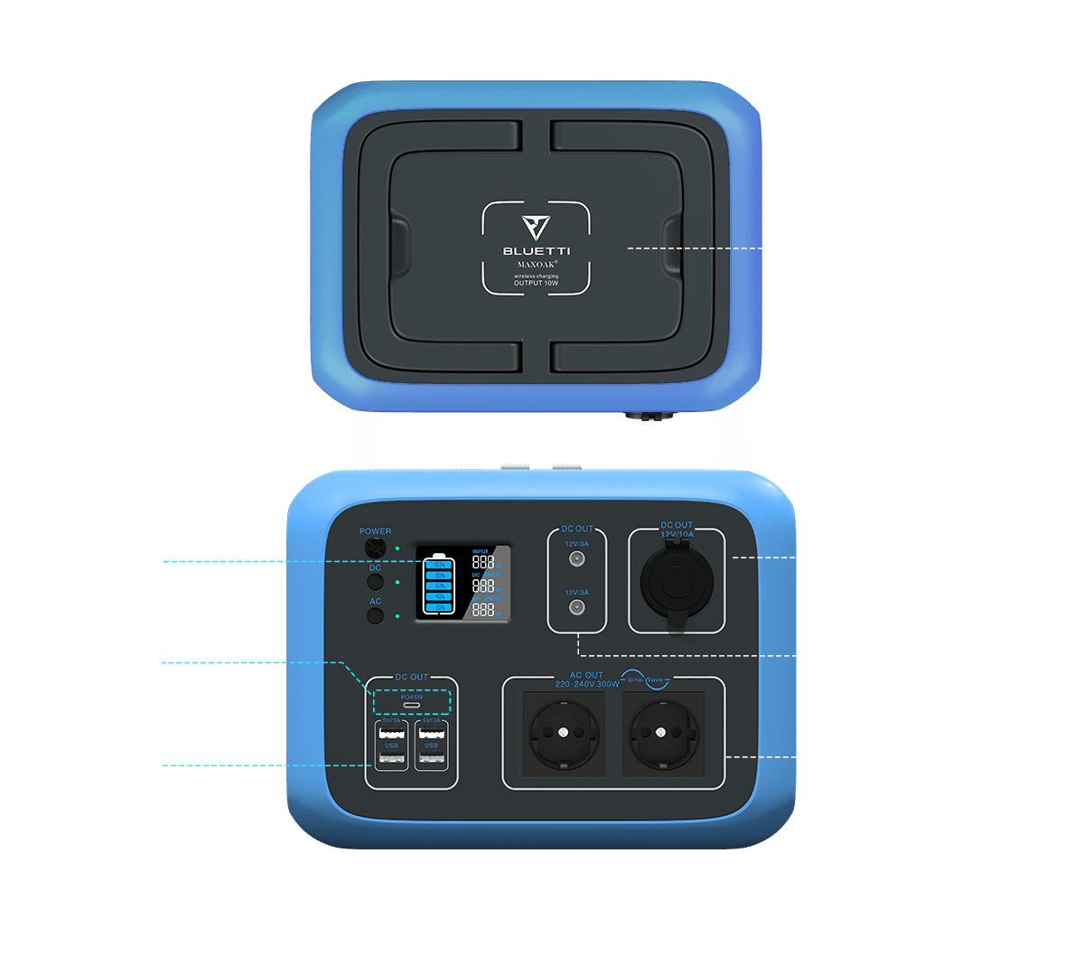Bluetti_AC50S_dc_and_ac_charging_outputs