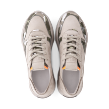 Load image into Gallery viewer, Camo and nubuk sporty trainers
