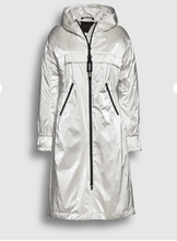 Load image into Gallery viewer, Glossy light weight parka