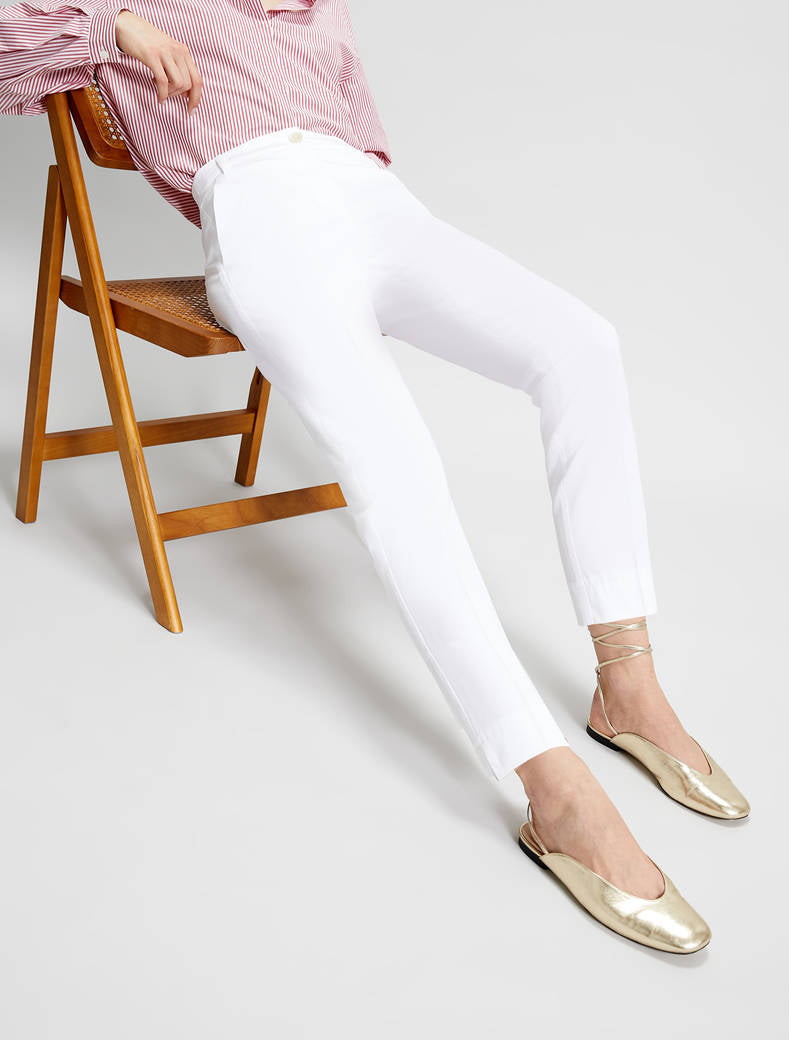 Bengasi slim stretch cotton trousers