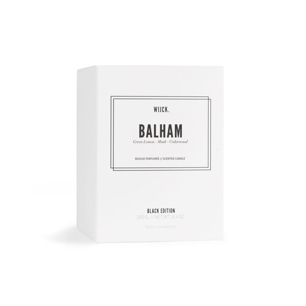 Black edition Balham, luxury  scented candle