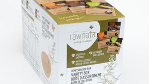 Rawnata Hemp Snacker Box