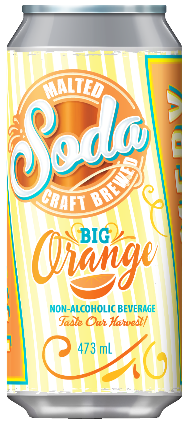 Farmery Big Orange Malted Soda