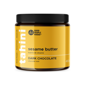 Good People Foods - Dark Chocolate Sesame Butter