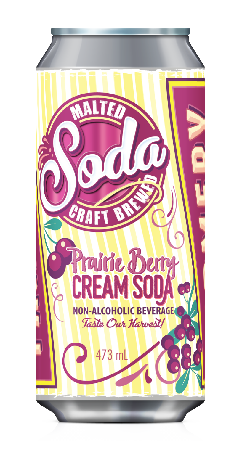 Farmery Prairie Berry Malted Soda