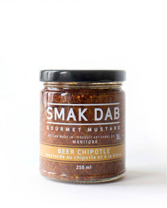 Smak Dab Beer Chipotle Mustard