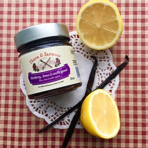 Flora & Farmer Blackberry, Lemon & Vanilla Spread