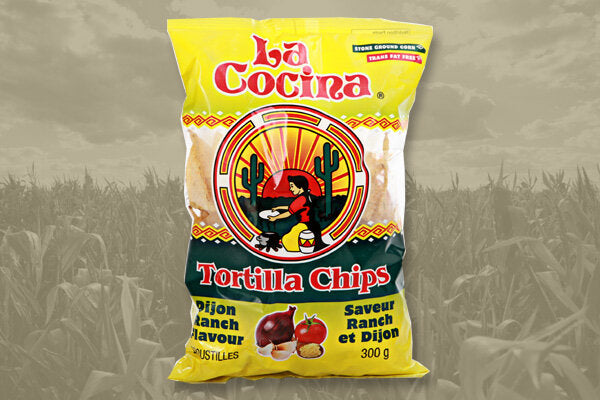 La Cocina Tortilla Chips - Dijon Ranch