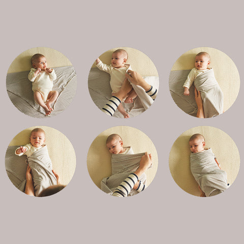 Steps to swaddle your newborn correctly