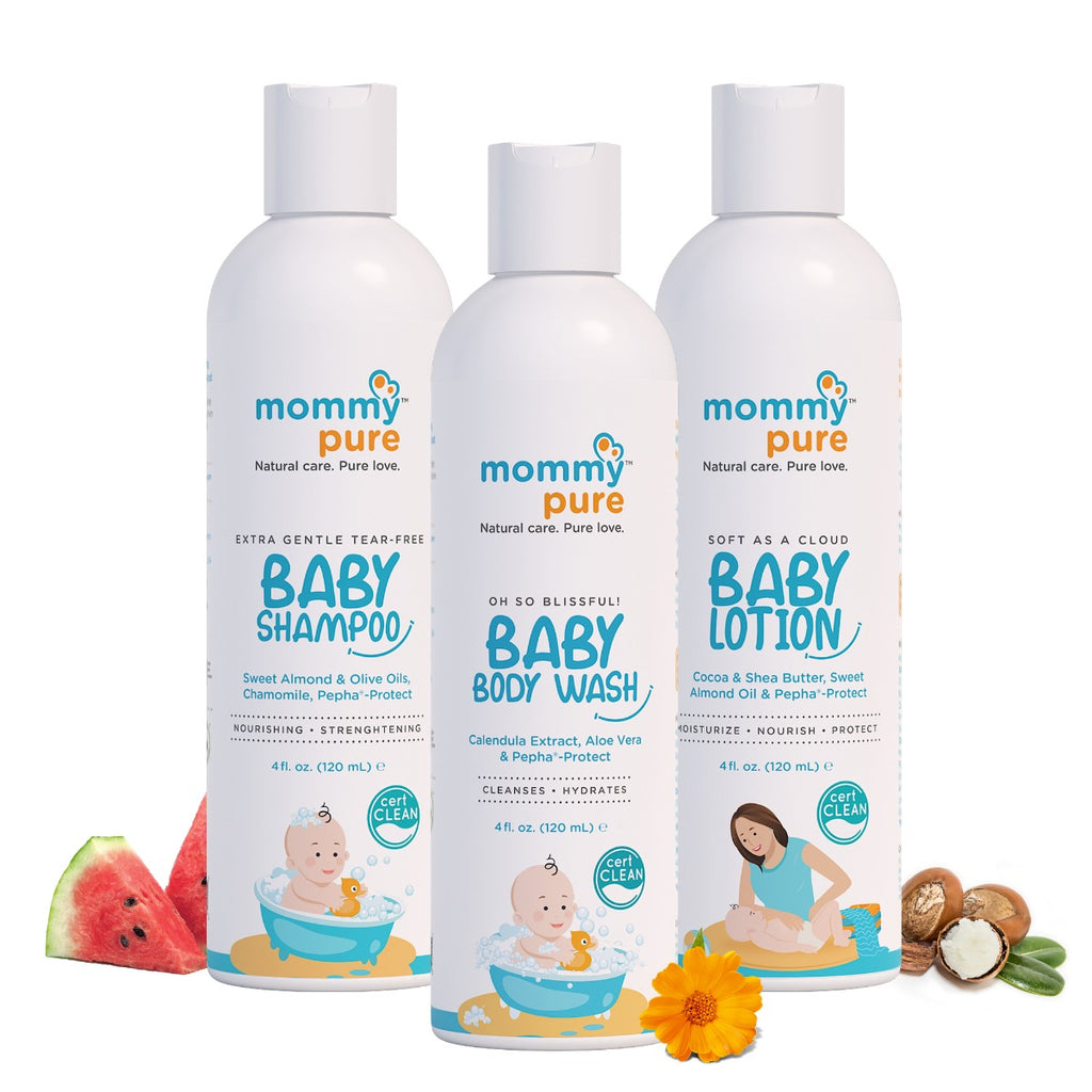 Baby Skin Care Essentials (120ml each)