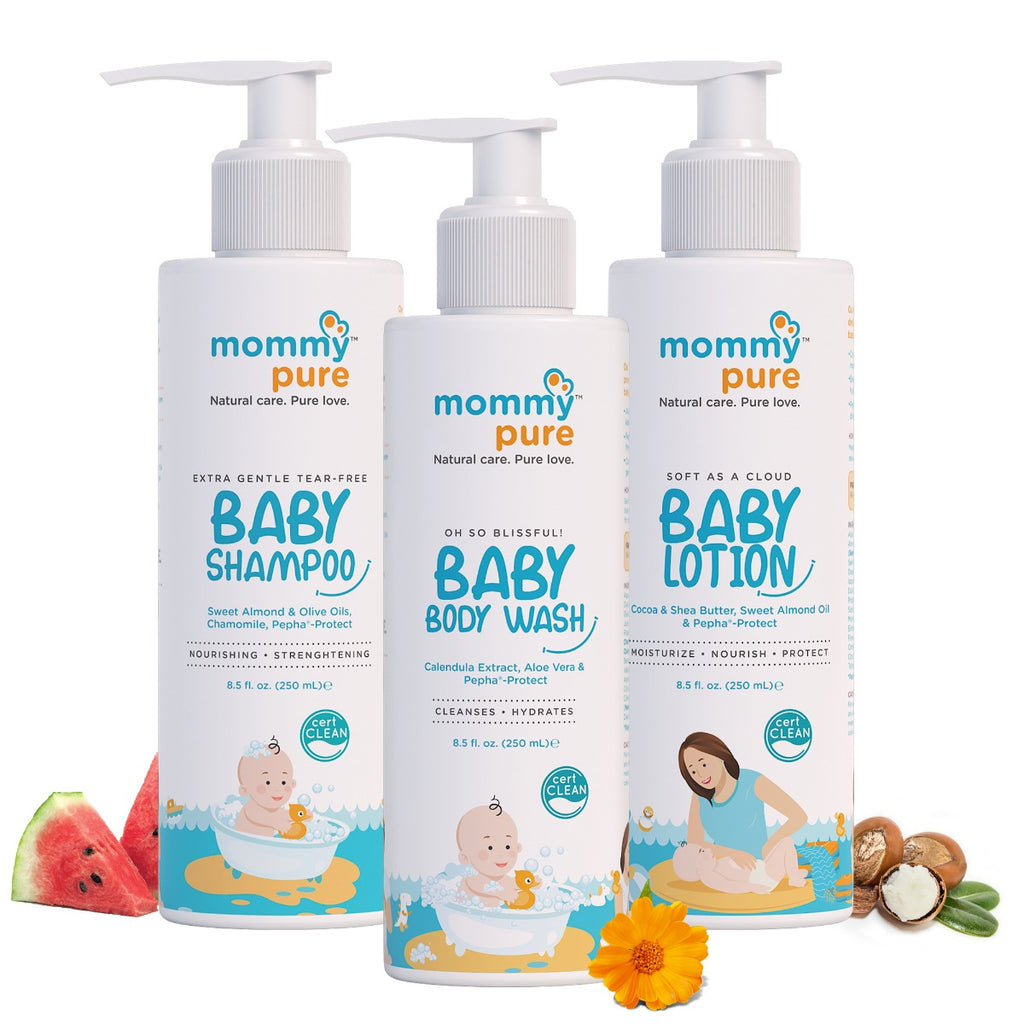 Baby Skin Care Essentials (250ml each)