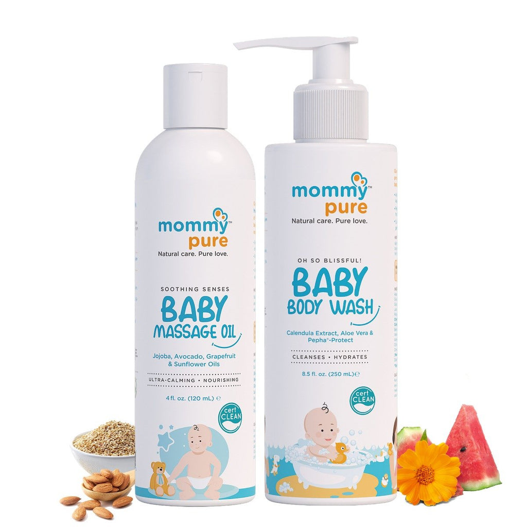 Soothing Senses Baby Massage Oil (120ml)