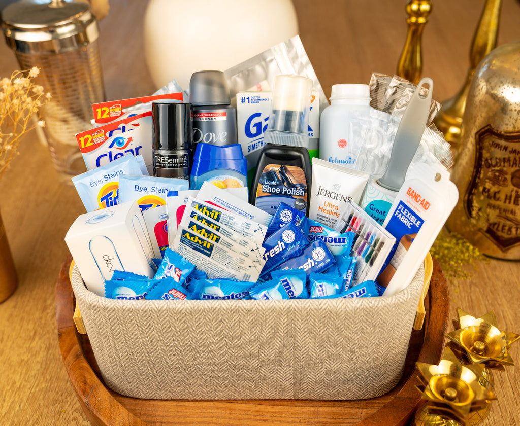 Gentlemen's Room Amenity Basket