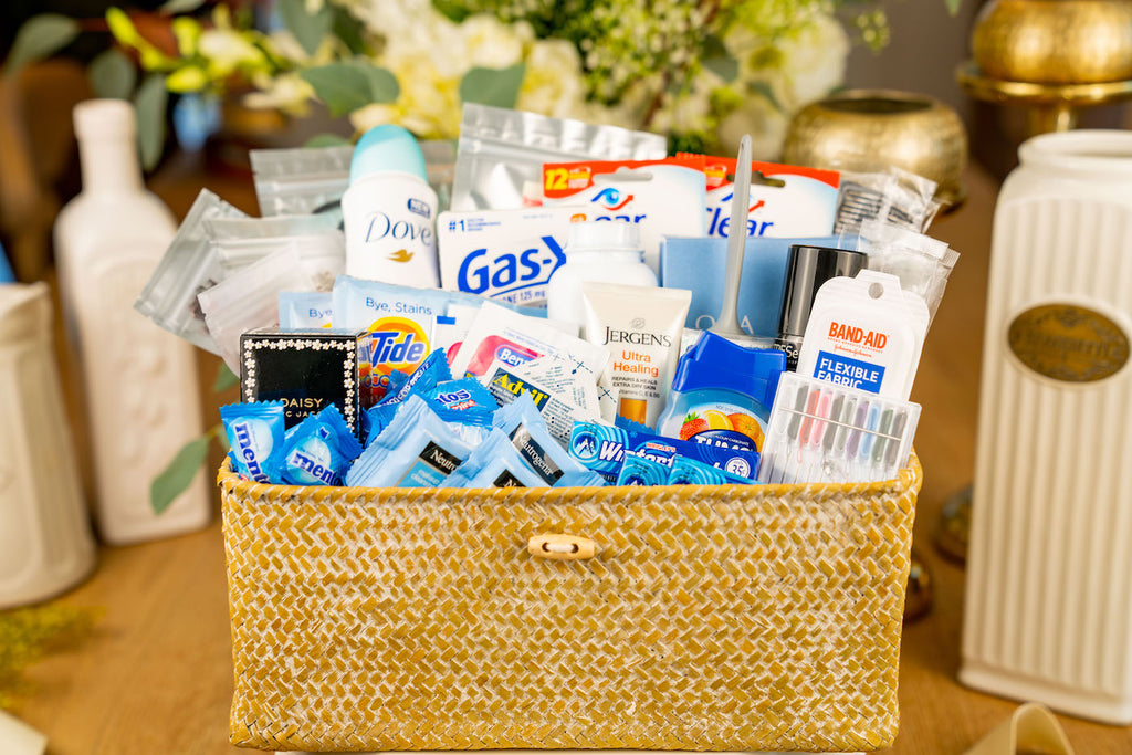 Ladies Room Amenity Basket