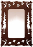 "MH-2025 - 30"" Elk Hall Mirror"