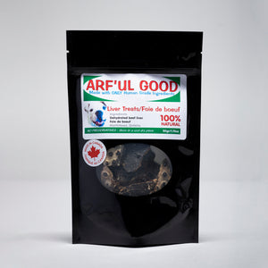 Dehydrated Beef Liver 50 gr. bag