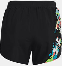 Indlæs billede til gallerivisning Women's UA Fly-By 2.0 Floral Shorts