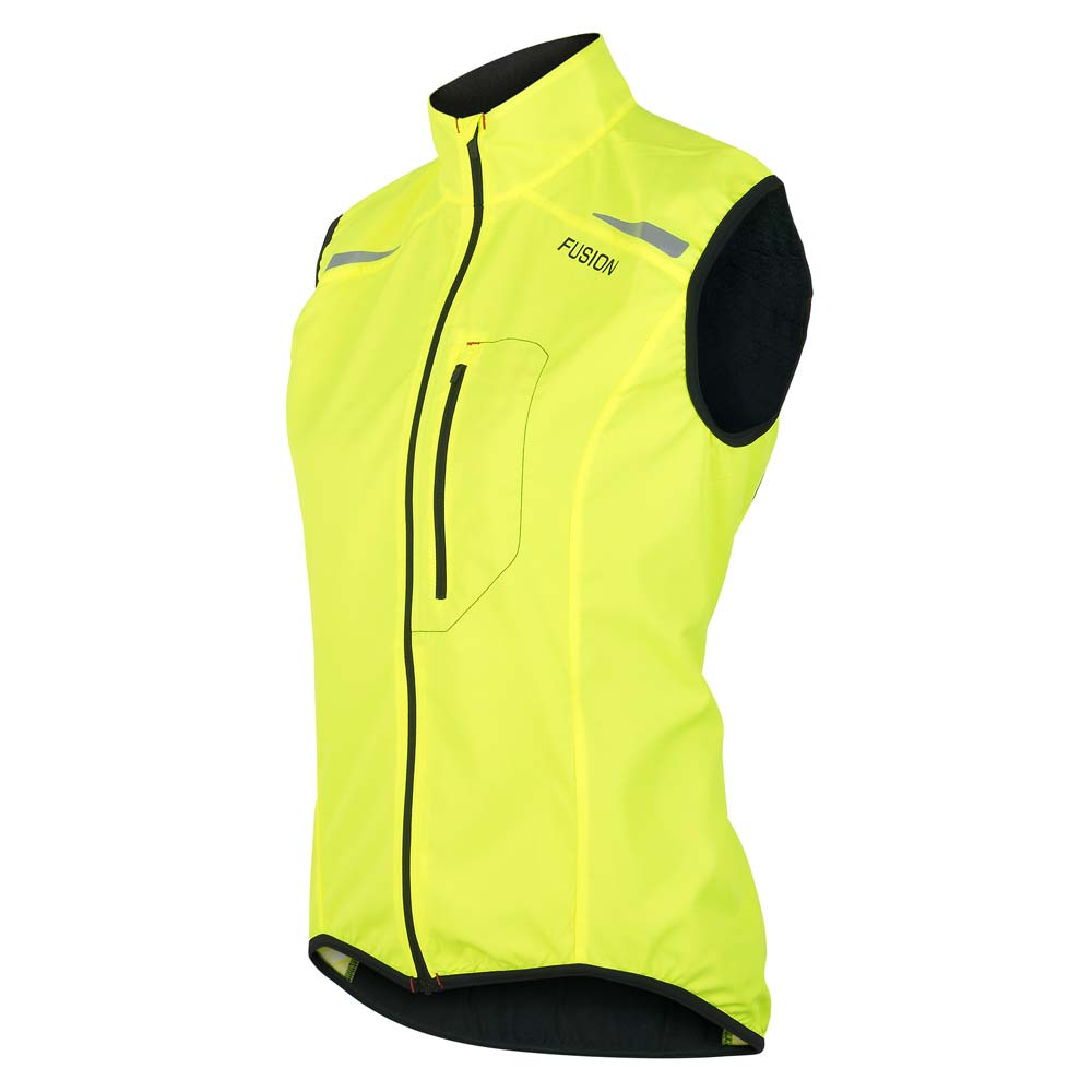 S1 RUN VEST WOMENS, YELLOW