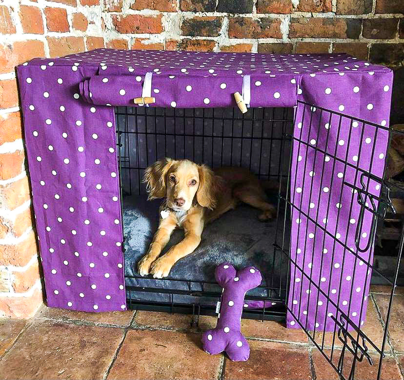 Limited Edition Custom Dog Crate Covers