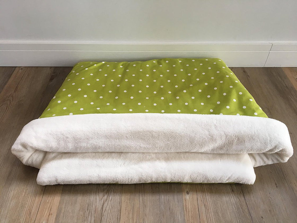 Green Spot Hand-Made Snuggle Sack
