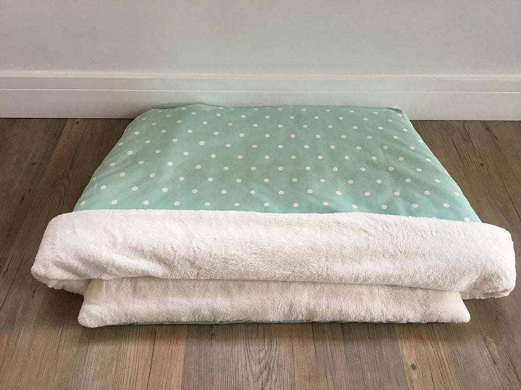 Mint Spot Hand-Made Snuggle Sack