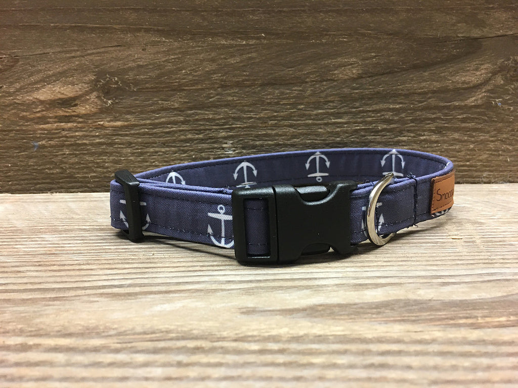 Navy Anchor Collar