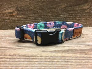 Navy Donut Collar
