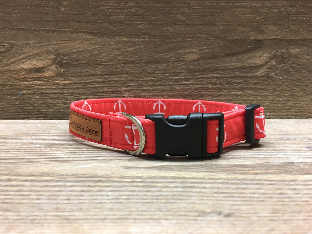 Red Anchor Collar
