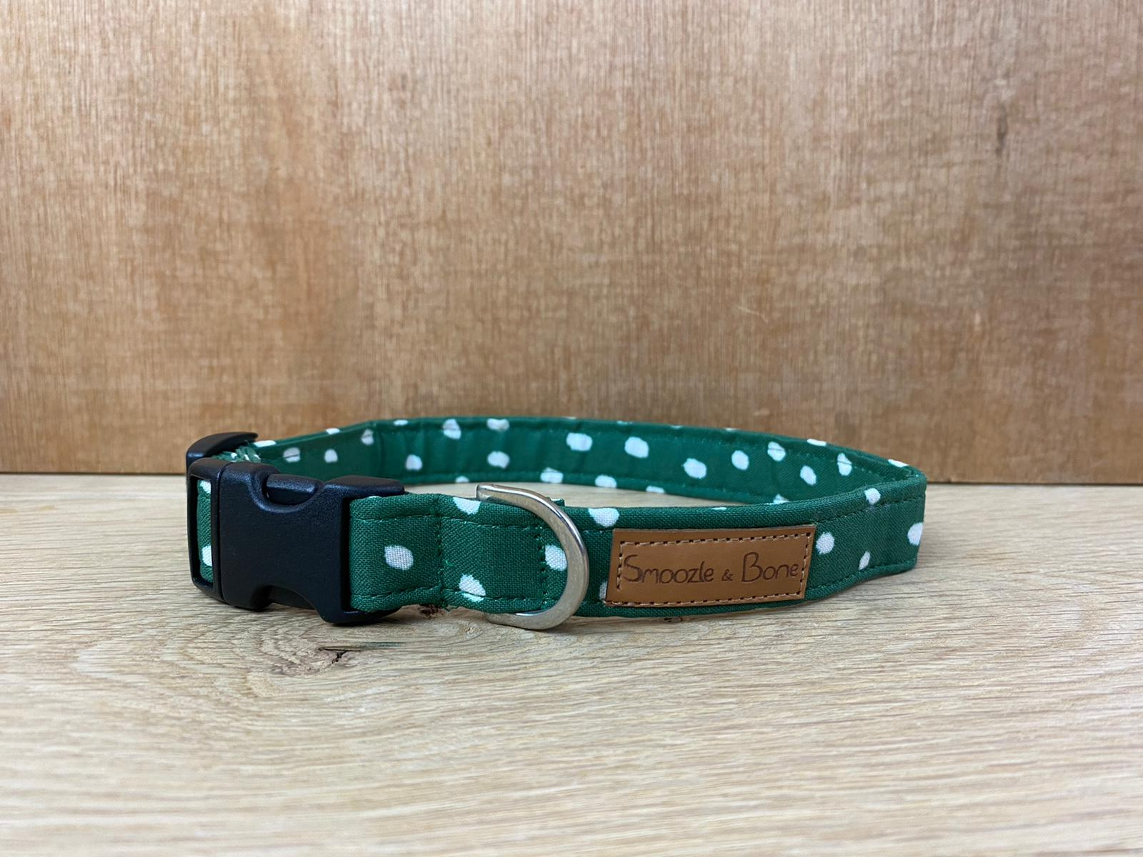 Green Dotty Collar