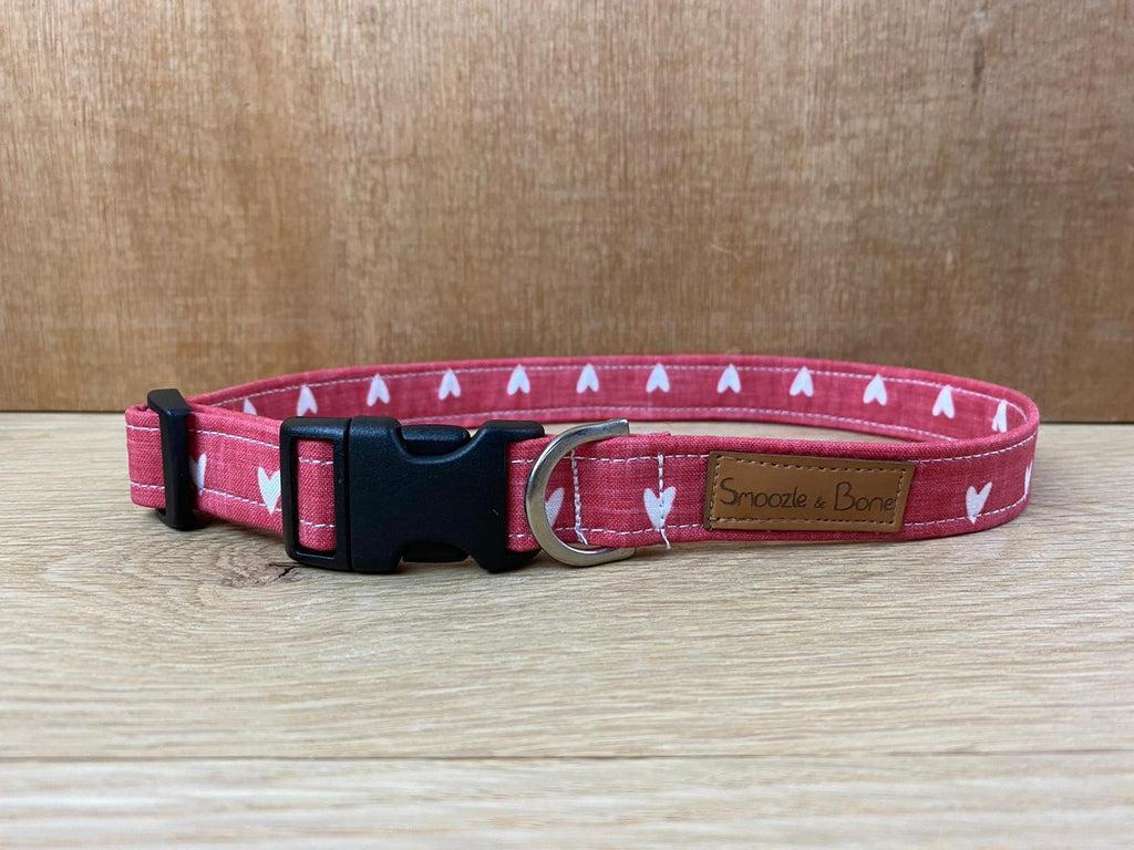 Red Love Heart Collar