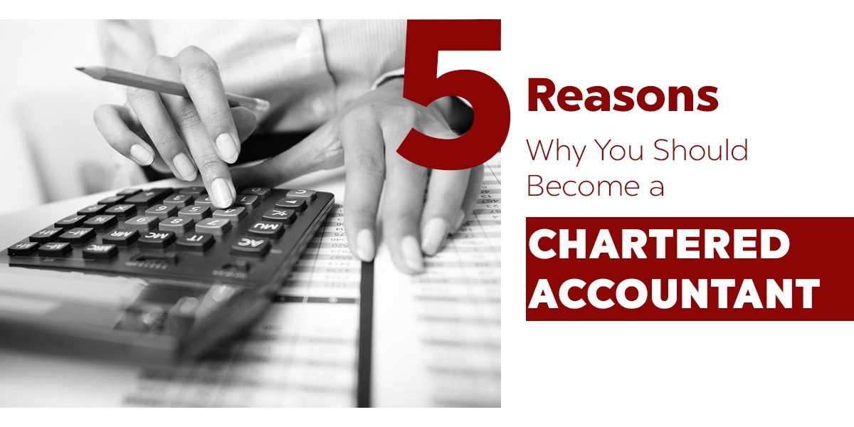 5 Reasons Why You Should Become a Chartered Accountant