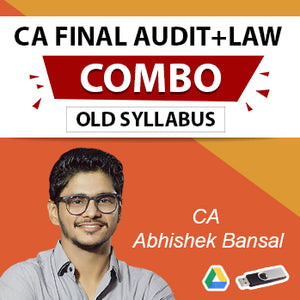 CA Final Law And Audit Old Syllabus Combo By CA Abhishek Bansal (For May 2021 & Nov 2021)