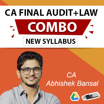 CA Final Law And Audit New Syllabus Combo By CA Abhishek Bansal (For May 2021 & Nov 2021)